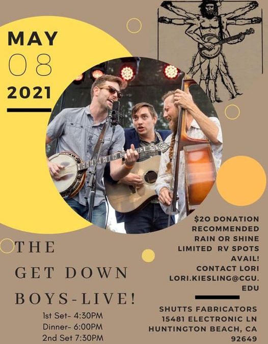The Get Down Boys – Live at Shutts Fabricators