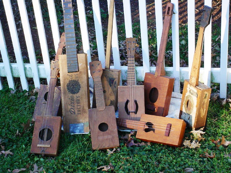 Fiddle and Banjo – and Cigar Box Guitars