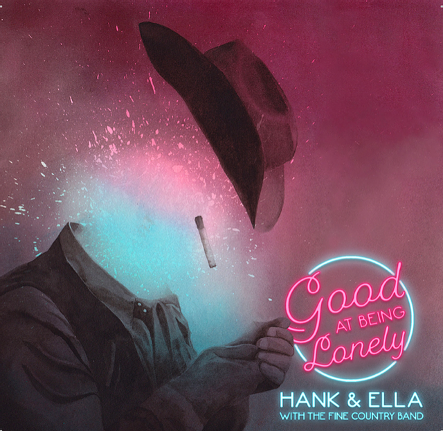 Hank and Ella with the Fine Country Band