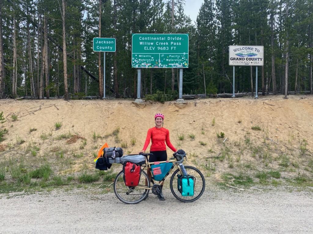 CBA Youth Program Alum Christine Wilhoyte Rides the Transamerica Trail